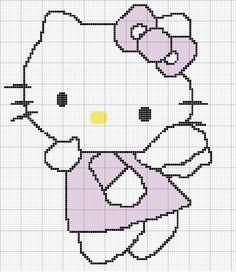 Adoro esta gatinha tão fofinha, e por isso quero lhes mostrar estes gráficos de ponto cruz da Hello Kitty para que vocês possam bordar em casa. Tudo o que você precisa é imprimir estes gráficos de …
