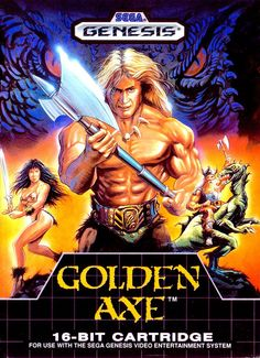 This was one of my favorite multiplayer games on the Sega Genesis. Unfortunately, I lent my copy of Golden Axe to someone and never got it back.