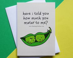 funny indian food-inspired card You Spice Up My Life & Etsy The post funny indian food-inspired card & You Spice Up My Life Greetings card appeared first on Gag Dad. Cute Puns, Funny Puns, Funny Facts, Funny Quotes, Food Jokes, Food Humor, Indian Puns, Flirty Lines, Funny Compliments