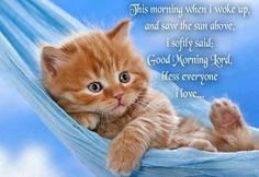 Happy+Good+Morning+Prayer | Via *°•.¸☆ ️ Jenn @ Lupus And Me