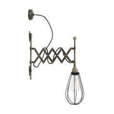 Picture of Calis scissor arm cage wall light
