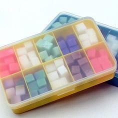 Cloth Wipe Bit Solution Cubes Sampler (blue box) - 120 cubes, one soap bit box! Choose your own scents Cloth Baby Wipes, Cloth Diapers, Cloth Wipe Solution, Bit Box, Feminine Wipes, Happy Hippie, Vegan Soap, Glycerin Soap, Wet Wipe