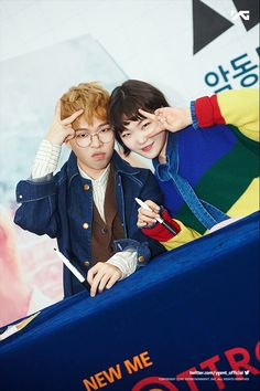 [AKMU - 사춘기 하(思春記 下)' 기념 사인회 FAN-SIGNING EVENT] More photos @ https://www.facebook.com/officialAKMU/posts/1307420369303527 … #AKMU #악뮤 #악동뮤지션 #FANSIGNINGEVENT #YG