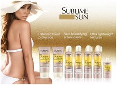 Jennifer Lopez is the face of a new campaign for Sublime Sun, a sun car product line from L'Oreal. Sublime Sun, Jennifer Lopez Photos, Best Sunscreens, Beauty First, Loreal Paris, All Things Beauty, Makeup Junkie, Body Care, Lifestyle Blog