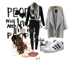 """""""#perfect #style #love #casual #urban #outfit #inspiration #winter #cold"""" by clodfever on Polyvore featuring adidas Originals, Suzywan DELUXE, Barbour and Marc Jacobs"""