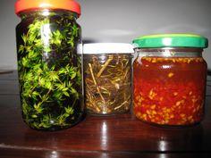 maceráty Herb Garden, Home And Garden, Korn, Kraut, Pesto, Salsa, Remedies, Herbs, Homemade