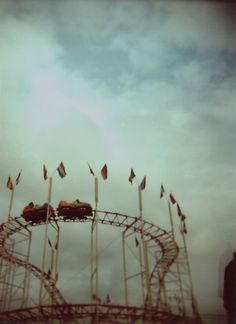Creepy Carnival: film photo of a silhouetted figure exiting the frame just as a carnival ride enters it by Kaat Zoetekouw - Amusement park, Carnival - Stocksy United Creepy Carnival, Carnival Rides, Themed Halloween Costumes, Creepy Halloween, Carnival Wedding, Dreams And Visions, Astral Projection, Lomography, Story Inspiration