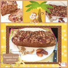 Bananenbrood met spelt Beef, Cake, Food, Pastel, Kuchen, Cakes, Meals, Cookies, Yemek