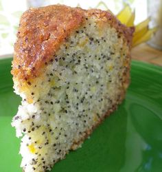 This is the most delicious lemon poppyseed cake I have ever tasted..... Delicious for afternoon tea.