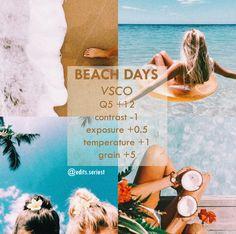 – Photography, Landscape photography, Photography tips Best Vsco Filters, Insta Filters, Summer Filters Vsco, Vsco Pictures, Editing Pictures, Photography Filters, Photography Editing, Vsco Beach, Vsco Themes