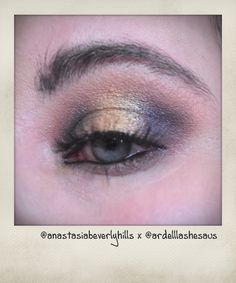 Using Anastasia Beverly Hills Prism palette and Ardell lashes - find April Belle all over social media at @aprilbelle83