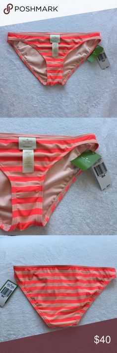 Kate Spade Swim Georgica Beach Classic Bottom Pink Kate spade swim Georgica Beach classic bottom in Geranium. Light pink and bright pink stripes throughout. This listing is for the bottoms only. Pink kate spade top can be found in a separate listing! kate spade Swim Bikinis