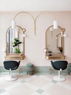 Studio Chloé Nègre — Salon Delphine Courteille