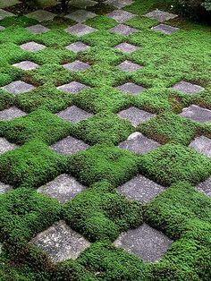 庭園の美:幾何学模様 : 日本庭園的生活