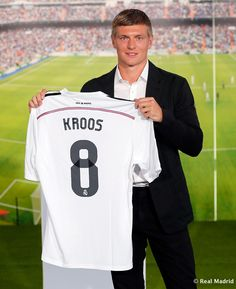 Toni Kroos 8 presentation Real Madrid 2014