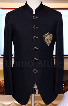 Prince Coat - Uomo Attire Mens Wedding Wear Indian, Wedding Dresses Men Indian, Indian Groom Wear, Wedding Dress Men, Wedding Coat, African Wear Styles For Men, African Clothing For Men, Mens Fashion Casual Wear, Mens Fashion Suits