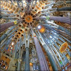 https://flic.kr/p/Jov8K3 | (2322) La Sagrada Família (Fisheye world) | Barcelona (Catalunya)  Quim Granell Freelance Photographer  © All rights reserved  Contact: quimgranell@cmail.cat