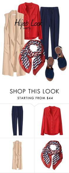 """Hijab Look 101"" by merlyana-dwi-hapsari ❤ liked on Polyvore featuring Rebecca Taylor, Marc Jacobs and Tory Burch"