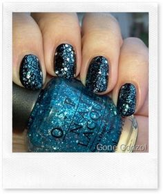 OPI Muppets Collection over Black Best voted OPI Nail Polish Lacquer #nail #polish @opulentnails #OPI