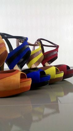 From Jessica Simpson Collection - Multi-Color Strappy Sandals