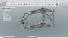 This is just something I designed to check about how joints work in Fusion The design does not match the reality. Fusion 360, 360 Design, Autodesk Inventor, Pattern Sketch, Cad Cam, Mechanical Design, Cad Drawing, 3d Prints, Autocad