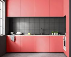 coral-colored rooms is that they can be brightened and darkened without sacrificing the original coloring. So you can have white coral rooms, and bright pink coral rooms. This is certainly something which cannot be said of many typical room colors. Corner Sofa And Chair, Coral Kitchen, Pink Dining Rooms, Coral Home Decor, Pantone, Air Conditioning Units, Multifunctional Furniture, Live Coral, Guest Bathrooms