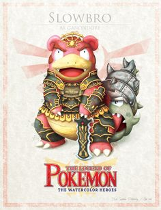 "Slowbro - pxlbyte: "" The Legend of Pokemon Graphic designer David Pilatowsky is the man behind these Pokemon - Legend of Zelda mashups. These were of my favourites, you can find the multi-part gallery here. Pokemon Zelda, Les Pokemon, Pokemon Sets, Pokemon Fan Art, Baby Pokemon, Twilight Princess, Digimon, Pokemon Mignon, Sailor Moon"