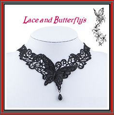 Bound In Lace Lace and Butterflies