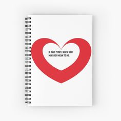 'Valentine day heart gifts' Spiral Notebook by CthroughMYeyes Valentines Day Hearts, Spiral, My Arts, Notebook, Art Prints, Printed, Paper, Awesome, People
