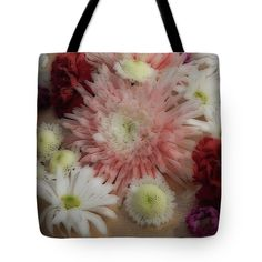 Art Tote Bag featuring the photograph Flowers #8834 by Barbara Tristan