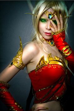 Blood Elf Cosplay from World of Warcraft
