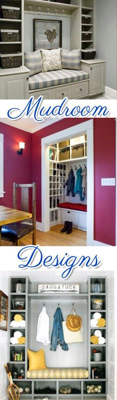 Gorgeous DIY mud room designs and mudrooms ideas