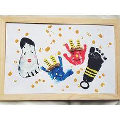 画像 Diy And Crafts, Arts And Crafts, Paper Crafts, Diy For Kids, Crafts For Kids, Baby Shots, Hand Art, Welcome Baby, Play To Learn