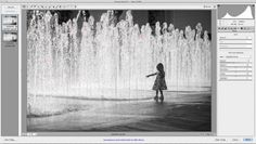 How I edit black and white images in Adobe Camera Raw  |  Tutorial via Stacey Woods @the creative mama