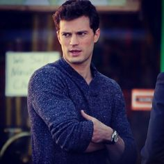 Christian Grey in Claytons...