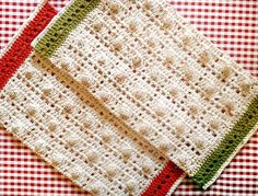 Ravelry: MamaMellie's Kelsey's Dishcloth Towels