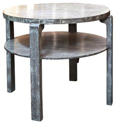 Art Deco SIde or Cafe Table