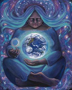25 Ideas Mother Nature Goddess God For 2019 Nature Artwork, Nature Drawing, Abstract Nature, Nature Paintings, Mother Art, Sacred Feminine, Divine Feminine, Goddess Art, Mystique