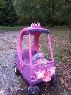 Cozy coupe princess makeover.