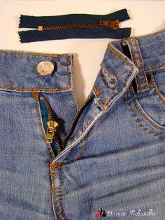 Молния на джинсы
