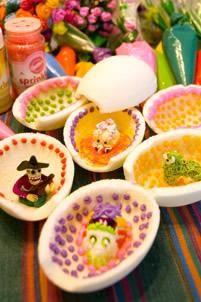 sugar eggs my mom gave me one of these every easter...gotta try to start the tradition with zac