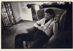 Rainer Werner Fassbinder, New York City, 1977  by Sylvia Plachy