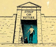 strip or retire skin in the game illustration Le Bourgeois Gentilhomme, Art Of Manliness, Green Sky, Warrior Quotes, Old Money, Every Man, In Ancient Times, Successful People, Ancient Greece