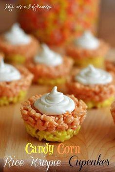 •(❤)• Rice Krispie Cupcakes •(❤)•