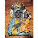 black madonna statue | eBay Image 1 BLACK MADONNA WALL STATUE lady of CZESTOCHOWA