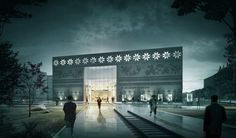 CGarchitect - Professional 3D Architectural Visualization User Community   MUZEUM KRESÓW NIGHT