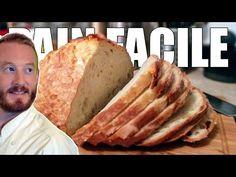 Pan Casero SIN AMASAR en 3 MIN 😊 [Receta MUY FÁCIL] 🍞🥖 - YouTube