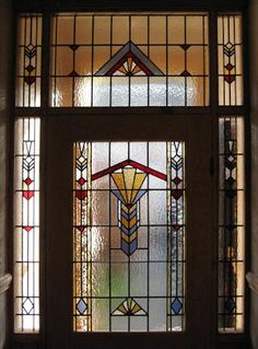 stained glass & leaded lights