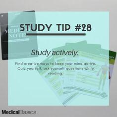 Ideas For Medical School Essentials Tips Vie Motivation, Study Motivation Quotes, Study Quotes, Life Hacks For School, School Study Tips, School Tips, School Stuff, Study Techniques, Study Methods