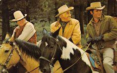PONDEROSA RANCH Bonanza Western TV Show Incline Village Nevada Postcard c1960s
